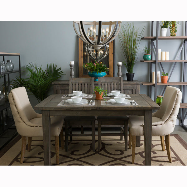 Irish Coast Extension Dining Table - Black Olive