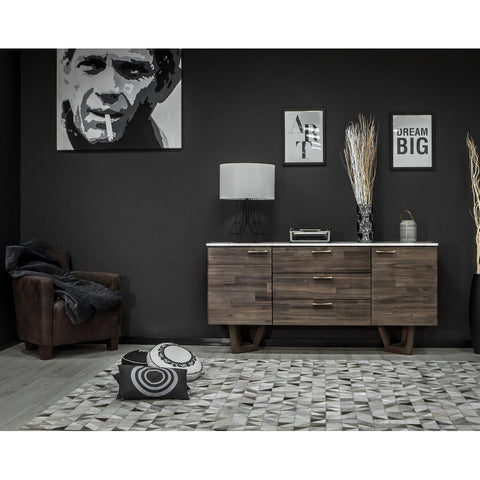 Marble Top Sideboard -  Aura