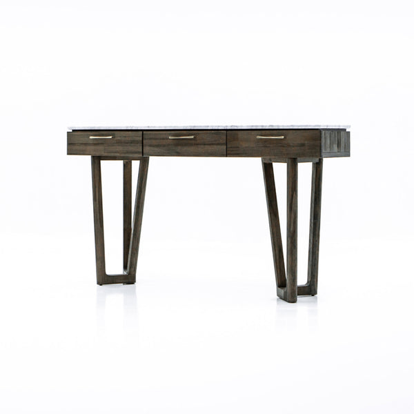 Marble Top Console Table-  Aura