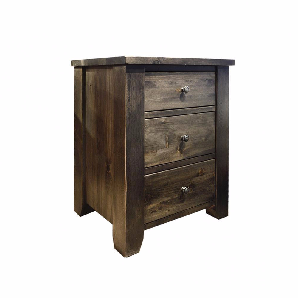 Rough Sawn Nightstand - 850-503