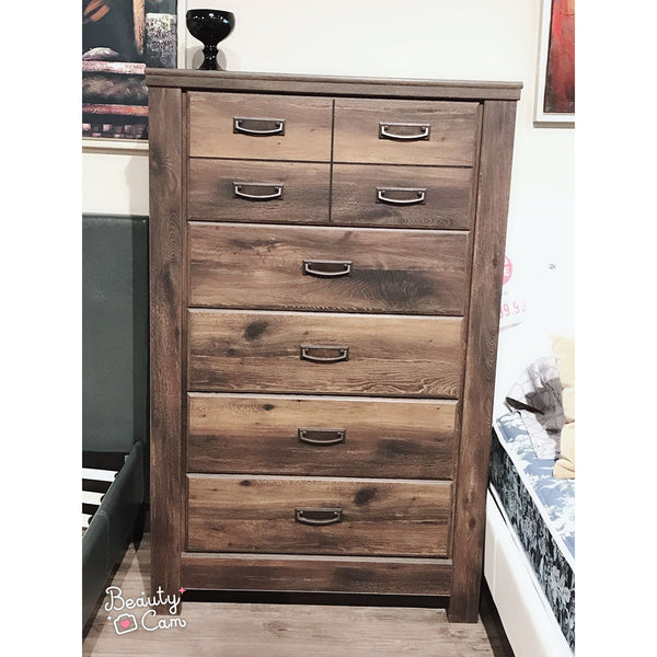 Country Style Chest w/8 Drawers- B251