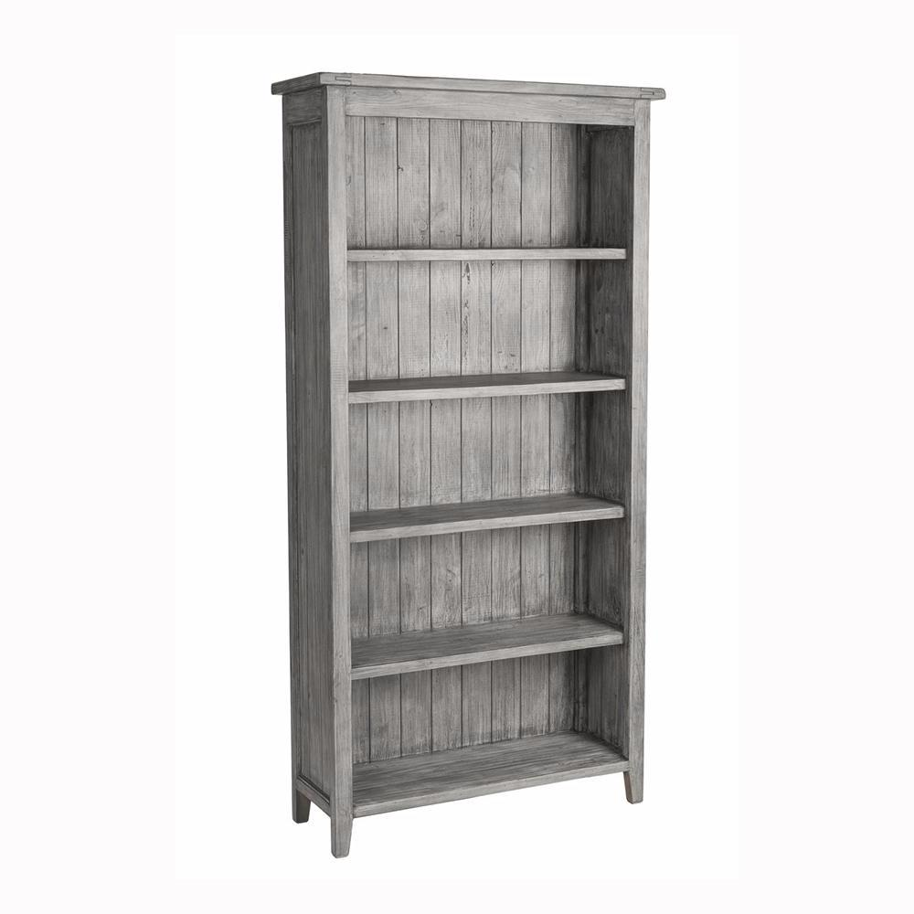 Irish Coast Lifestyle Bookcase - Charcoal Ash