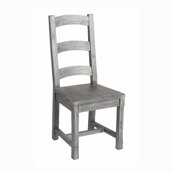 Irish Coast Ladder Back Chair - Charcoal Ash