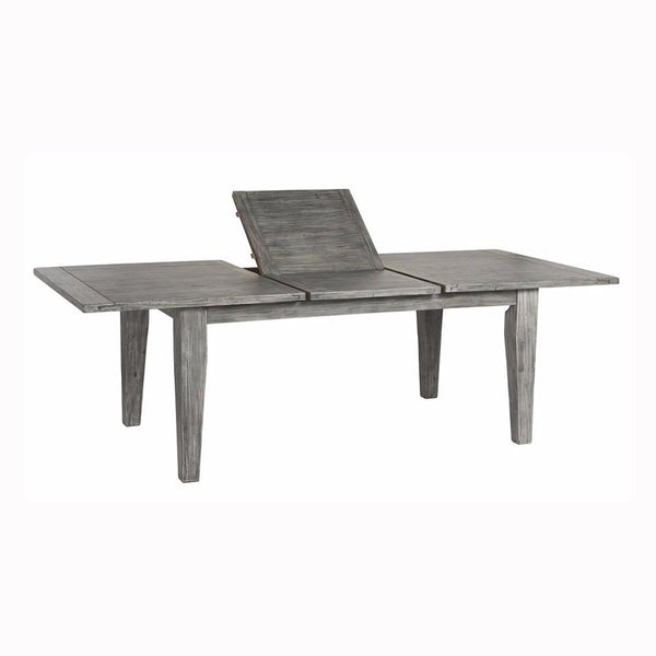Irish Coast Extension Dining Table - Charcoal Ash