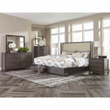 Dark Grey Finish Dresser  - 1788