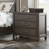Wing Upholstered Storage King Bedroom Set  - 1788