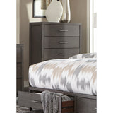 Dark Grey Finish Chest  - 1788