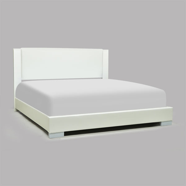 High-Gloss Queen Bed-1811