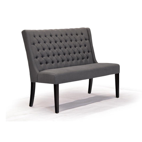 Graphite Dining Bench - Lauren