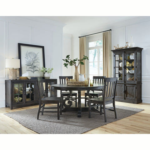 Edmonton Furniture Store | Rustic Solid Pine Round Dining Room Set - Bellamy