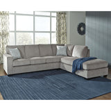 Edmonton Furniture Store | Slate Grey Fabric Sofa Bed - 872