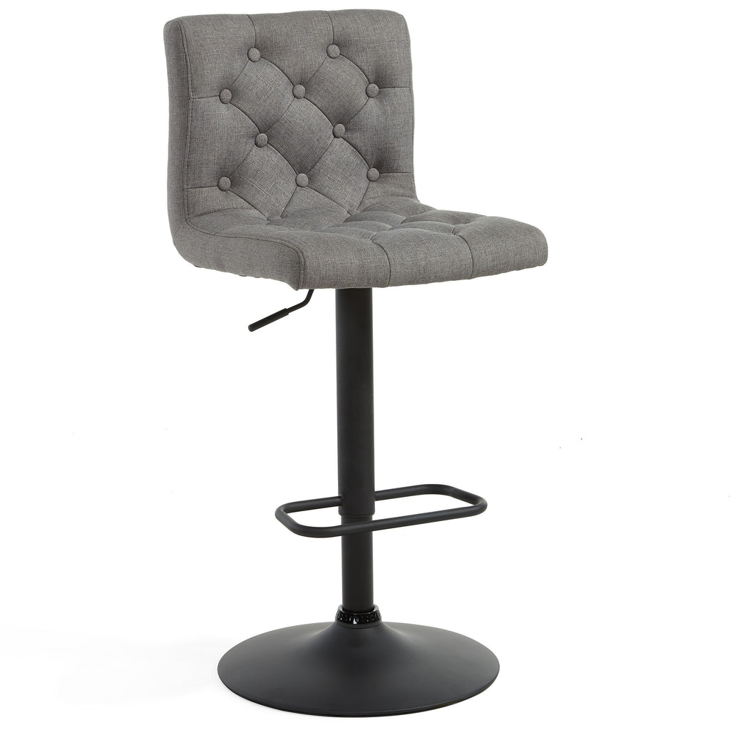 Grey Color Color Bar Stool - Dex
