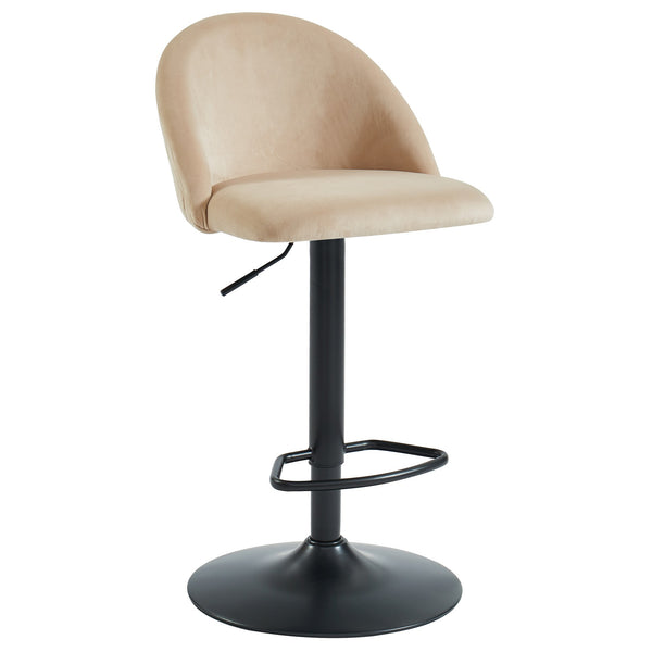 Beige Color Bar Stool - Sataro
