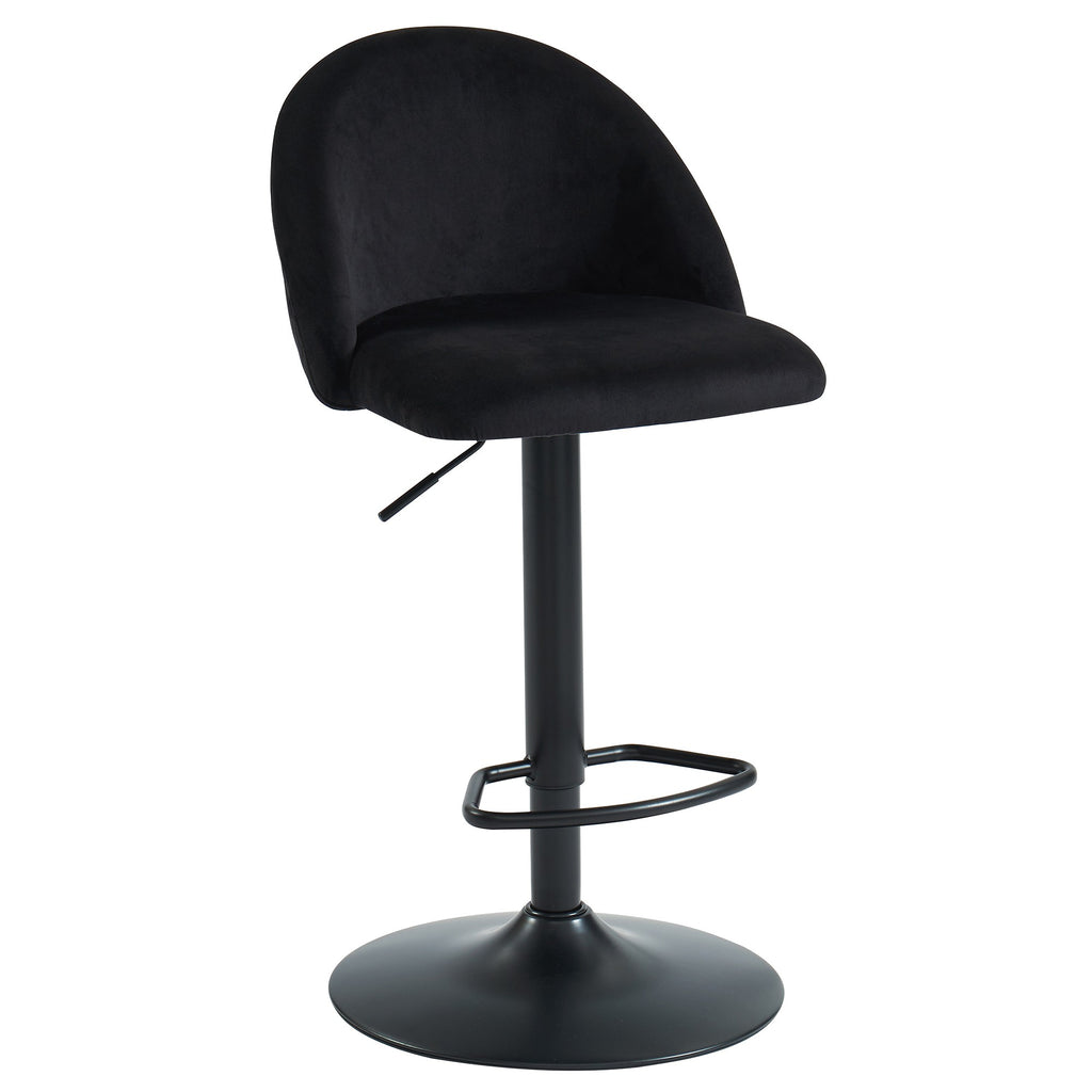 Black Color Bar Stool - Sataro