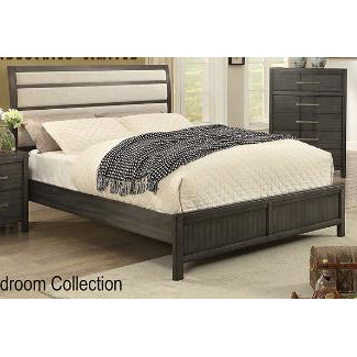 Edmonton Furniture Store | Grey Contemporary Upholstery Headboards Bedroom - 2141
