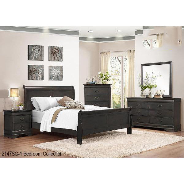 6 Pcs Queen Bedroom Set - 2147