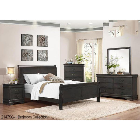 5 Pcs Queen Bedroom Set - 2147