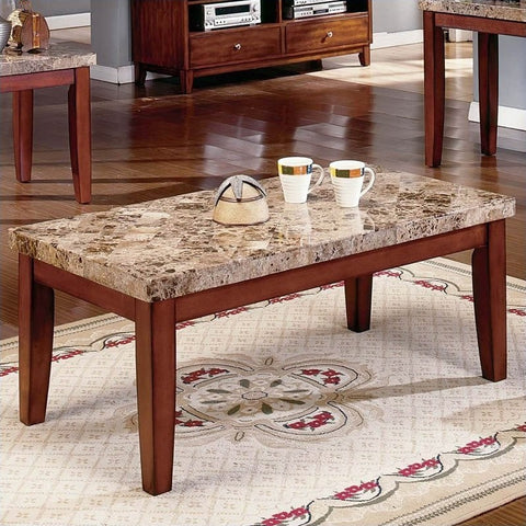 Real Marble Coffee Table - 1333
