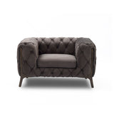 Velvet Sofa & Chair - Barnaby