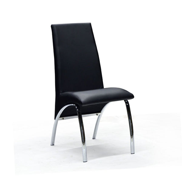 Black Color Dining Chair - Ophelia