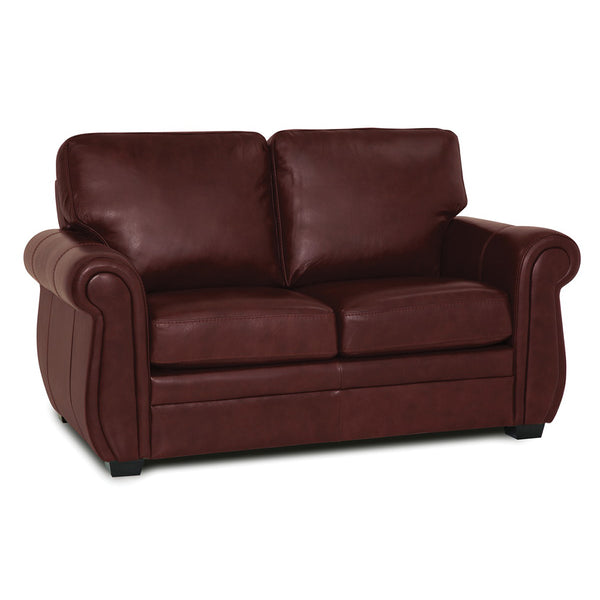 Palliser Leather Match Loveseat - Borrego