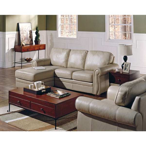 Edmonton Furniture Store | Palliser Custom Made LHF/RHF 3 Seat Sectional - Viceroy
