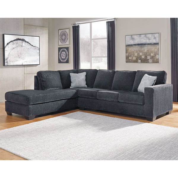 Edmonton Furniture Store | Slate Grey Modular Sectional  - 872