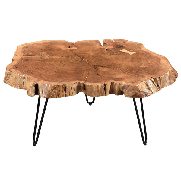 Natural Color Coffee Table - Nila