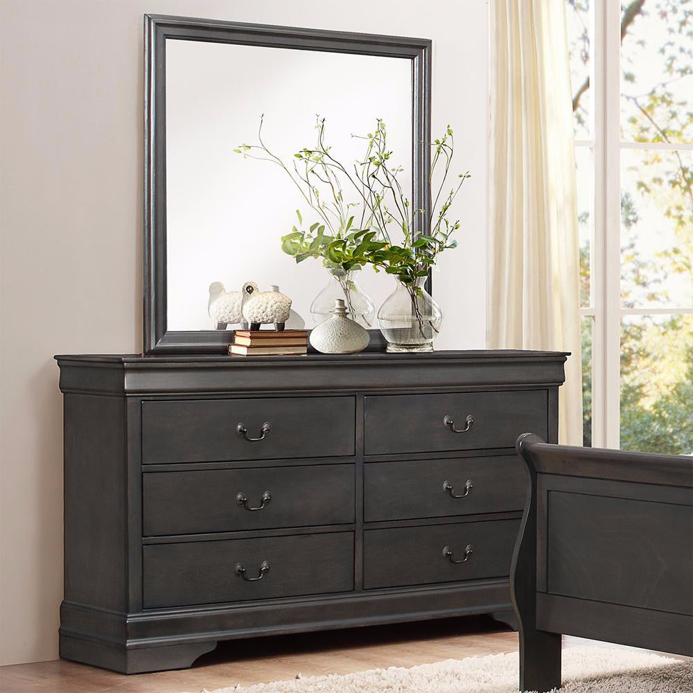 Grey Color Dresser - 2147