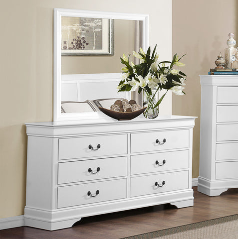White Color Dresser - 2147