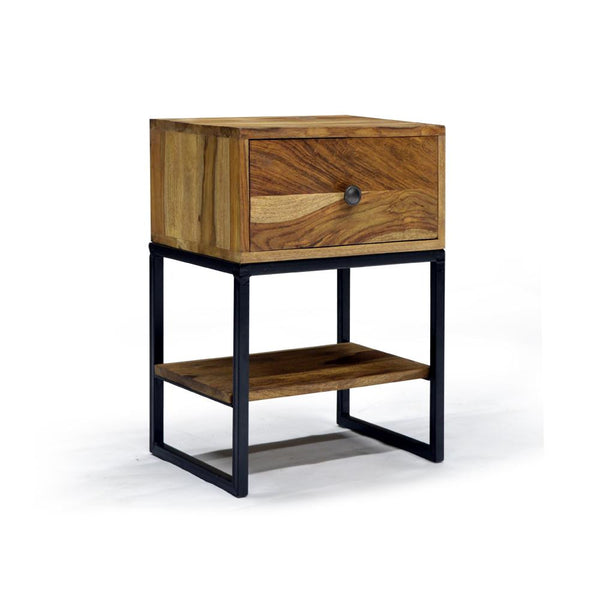 Reclaimed Style Accent Table - Akram