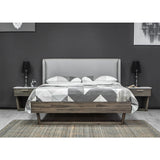 Plate Form King Bed -  Aura