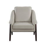 Mid-century Modern Styling Grey Accent Chair - Brandon