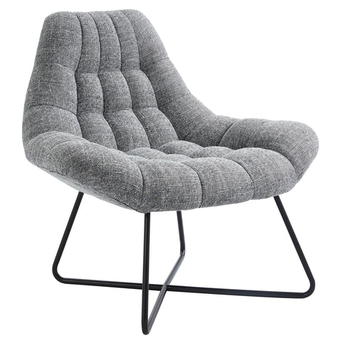 Grey Accent Chair - Shelby