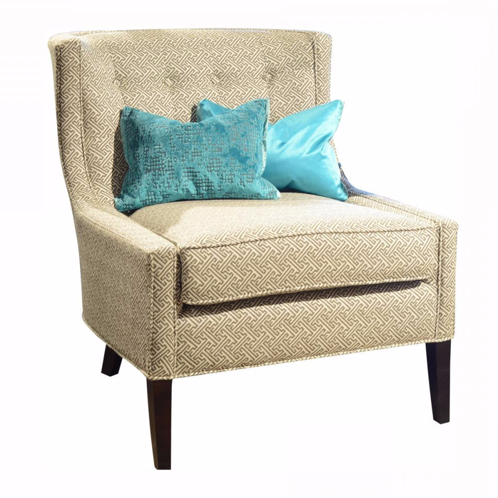 Fabric Accent Chair - Adler