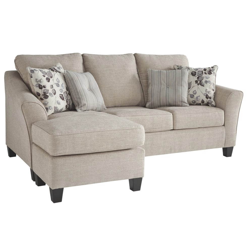 Edmonton Furniture Store | Cream Apartment Size Sectional - 497
