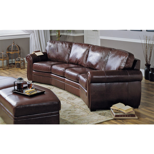Edmonton Furniture Store | Palliser Custom Made 4 Seat Angled Sectional - Viceroy