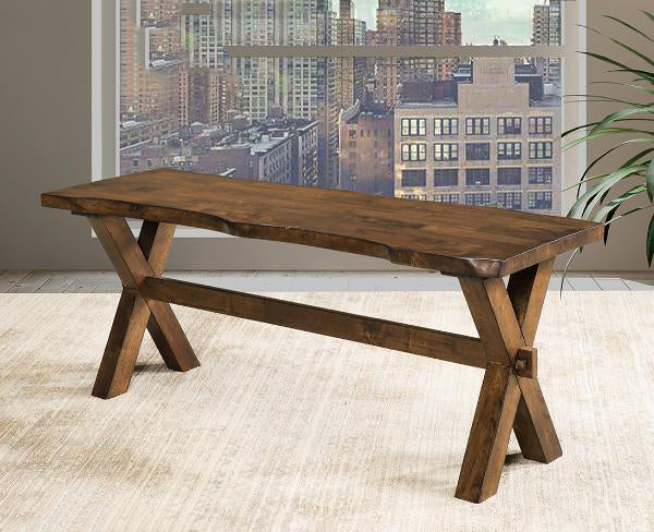 Live Edge Dining Bench - 5020