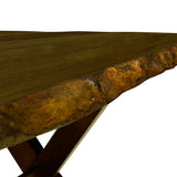 Live Edge Dining Bench - 5000