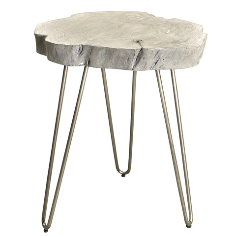 Grey Color Accent Table - Nila