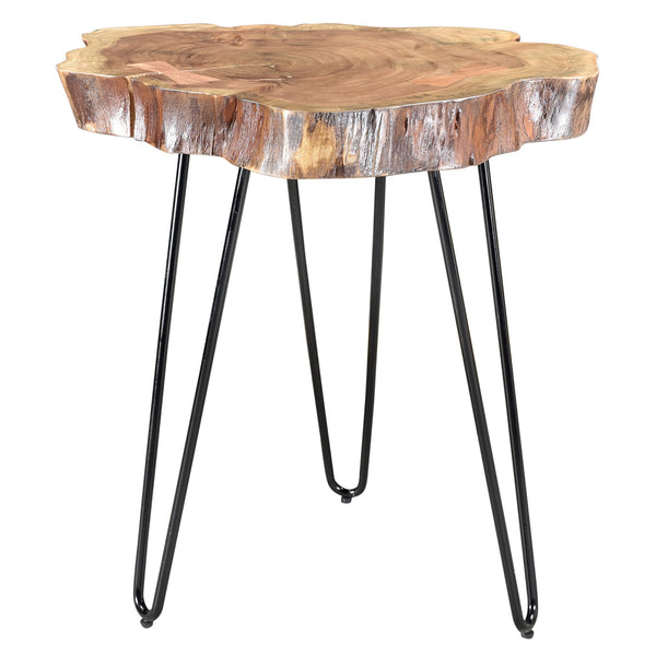 Natural Color Accent Table - Nila
