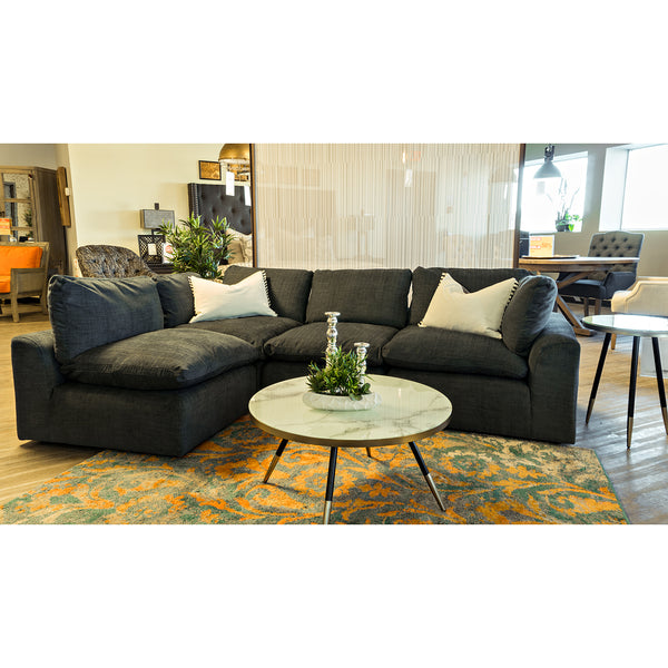 Edmonton Furniture Store | Down Filled Modular Piece Sectional - 5049