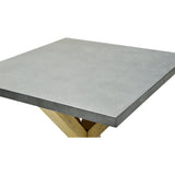 Zinc topped End Table - 5100