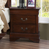 Cherry Color Nightstand - 2147