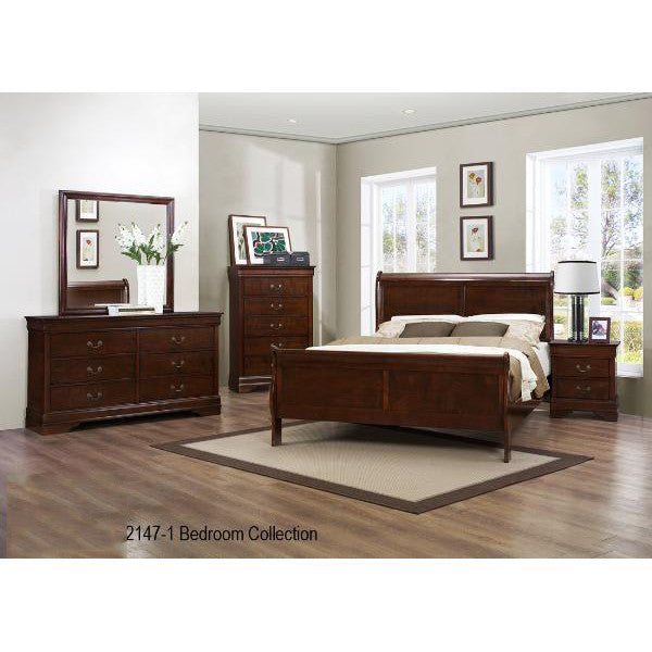 8 Pcs King Bedroom Set - 2147