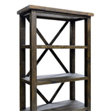Bookcase Smokey Brown - Alfreso ALA021-SB