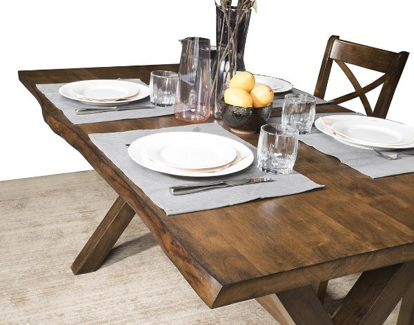 Live Edge Dining Table - 5020