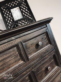 Rustic Solid Wood Chest - Calistoga B2590