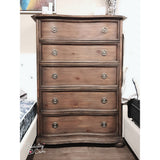 Hard Wood Chest w/ 5 Drawers- B2258