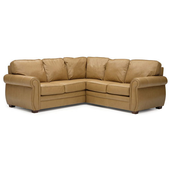 Edmonton Furniture Store | Palliser Custom Made LHF/RHF 5 Seat Curve Corner Sectional - Viceroy